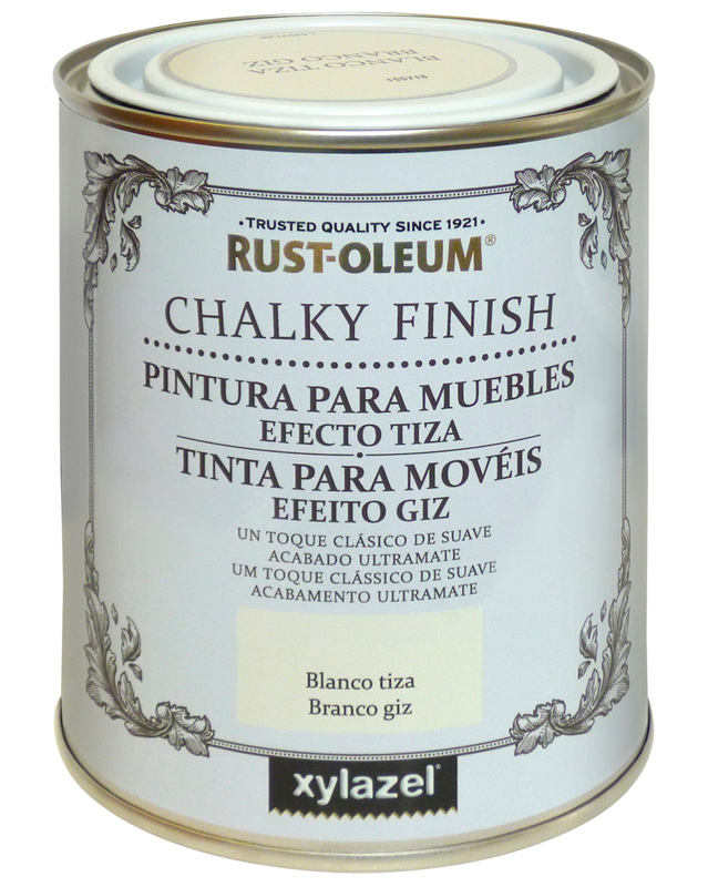 Rust oleum chalky finish pintura para muebles xylazel for Bauhaus mueble zapatero
